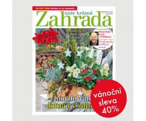 Roční tištěné předplatné Naše krásná zahrada se slevou 40%