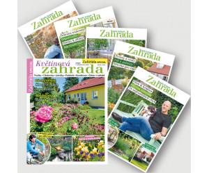 Roční předplatné Naše krásná zahrada speciály se slevou 20%