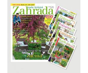 Roční předplatné Naše krásná zahrada (12 vydání) + Speciály NKZ (5 vydání) se slevou 32%