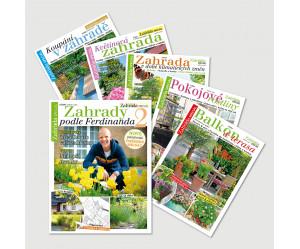 Roční předplatné Naše krásná zahrada speciály se slevou 20% (5x speciál titulu NKZ)